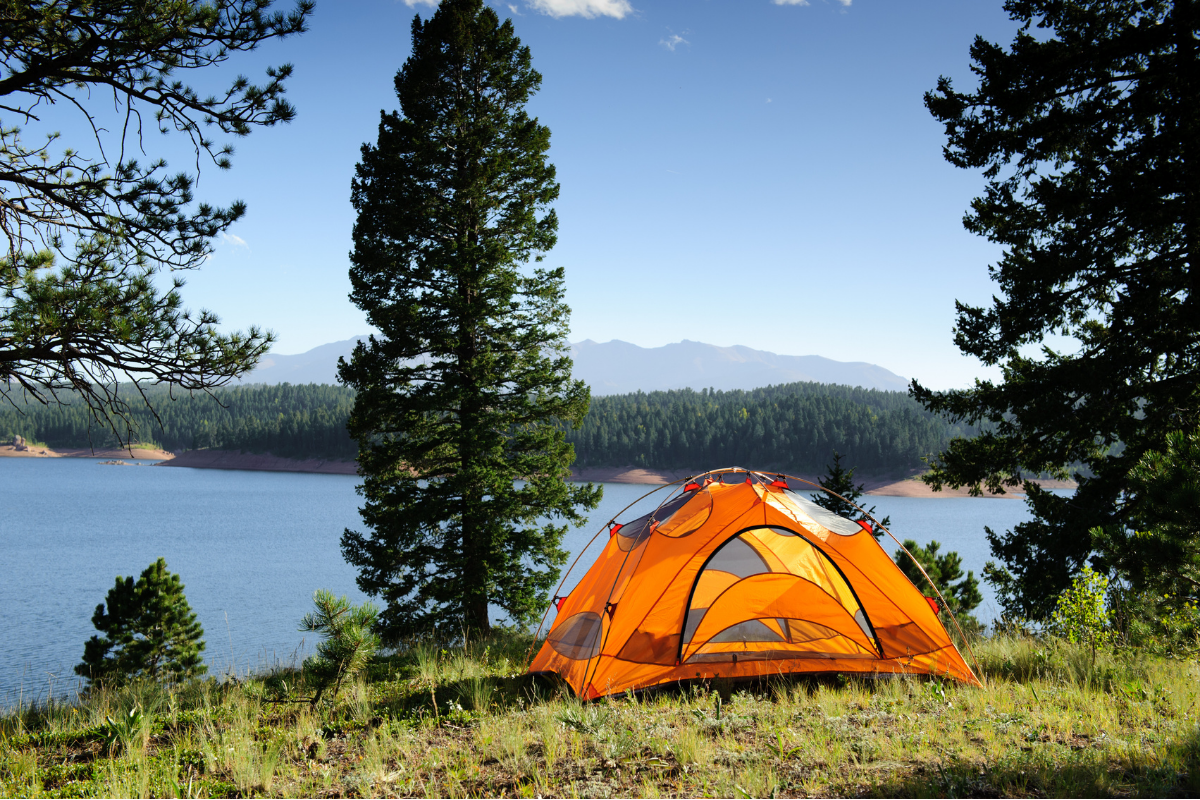 Camping is one of the best ways to get out and explore the outdoors. This list of camping essentials has everything you need for your trip!