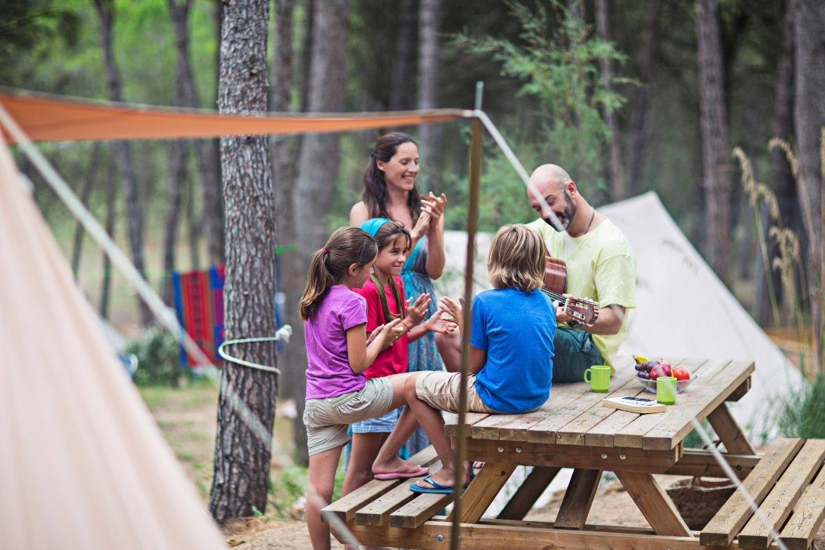 fun things to do while camping